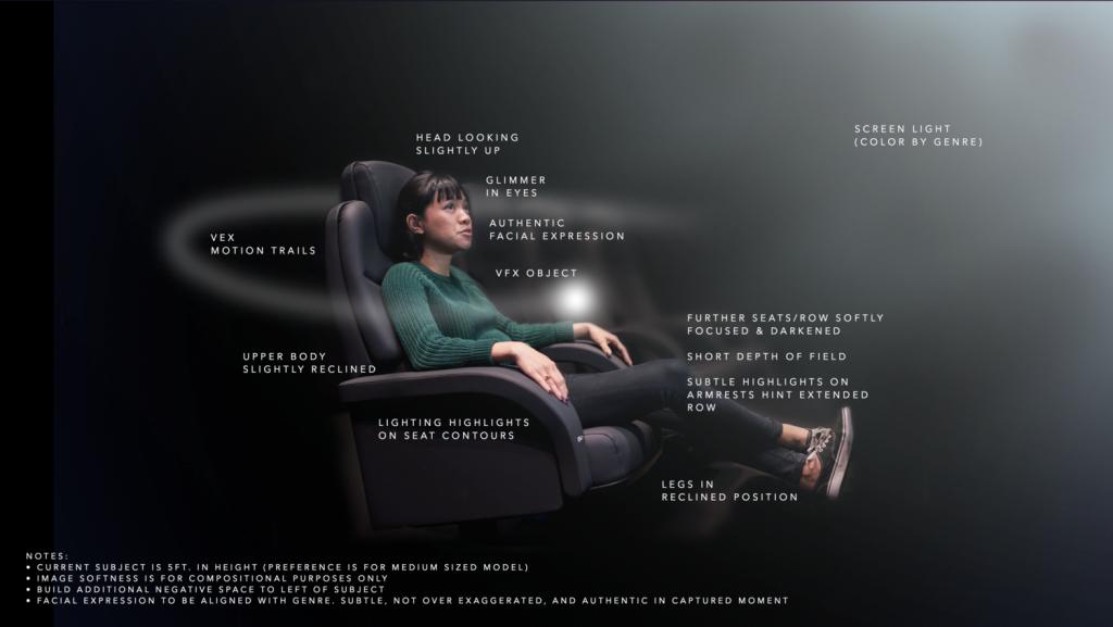 Dolby Cinema stoel
